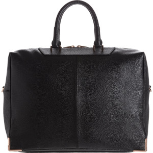 Best Women's Briefcase | Alexander Wang Prisma Skeletal Black Briefcase