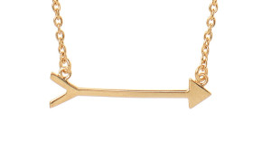"""Best Pi Beta Phi """"On the Mark"""" Arrow Necklace"""