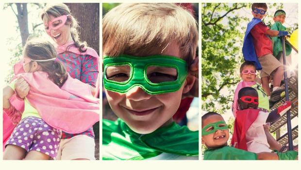 Family Superhero Capes