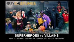 Superheroes vs Villains Halloween Costumes