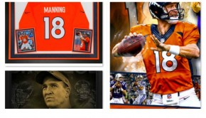 Peyton Manning Collectibles Super Bowl 50