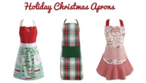 Holiday Christmas Apron Sale