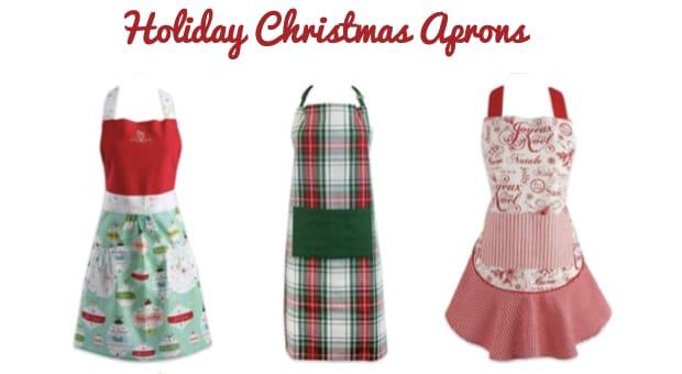 Holiday Christmas Apron Sale