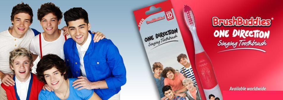 One Direction Singing Toothbrush
