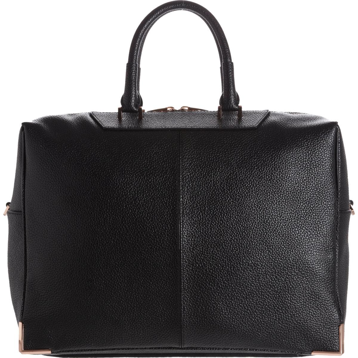 Best Women's Briefcase | Alexander Wang Prisma Skeletal Black Briefcase