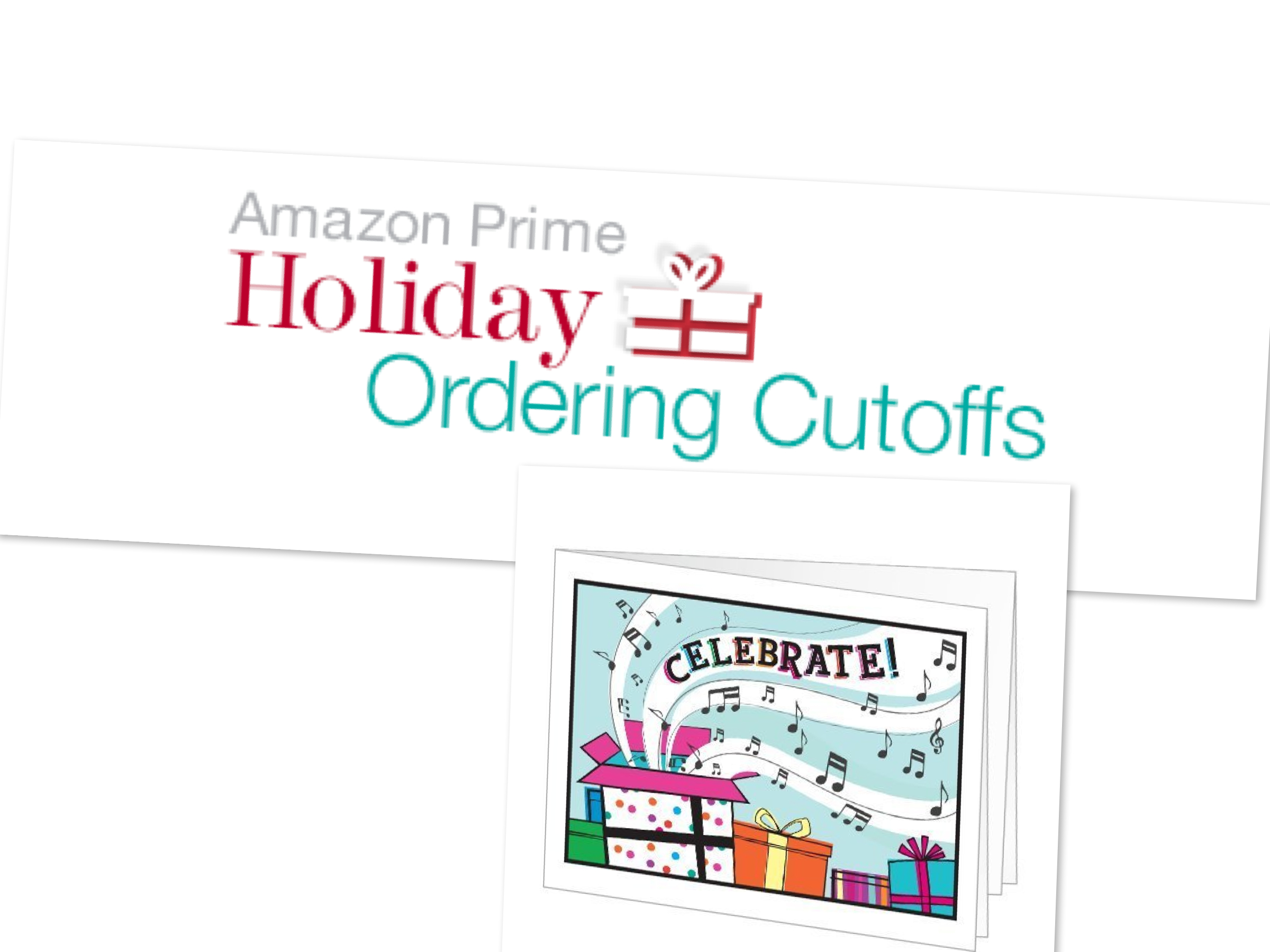 Amazon Prime Ordering Christmas Delivery Cutoffs