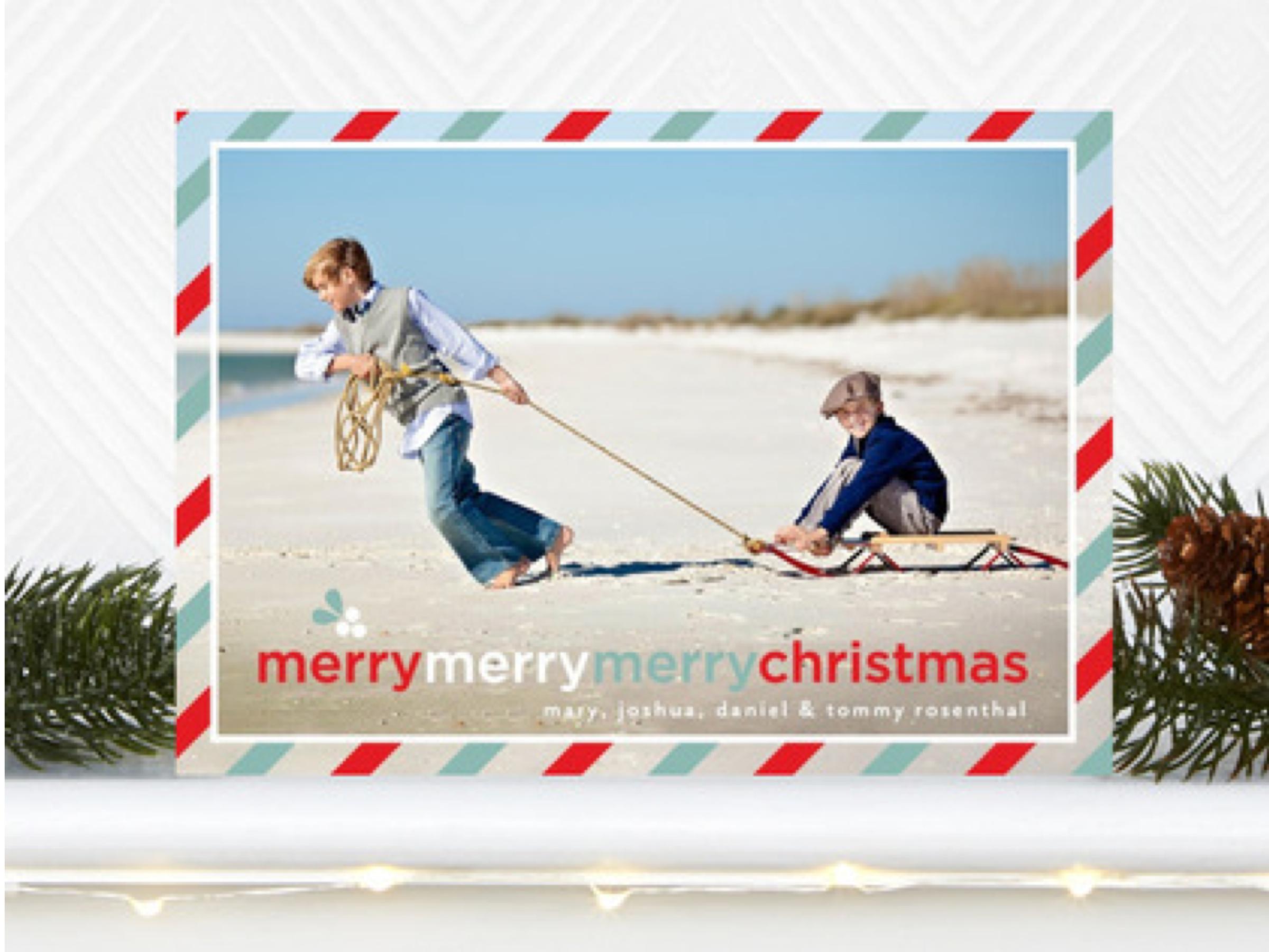 Wishing You a Merry Merry Merry Christmas