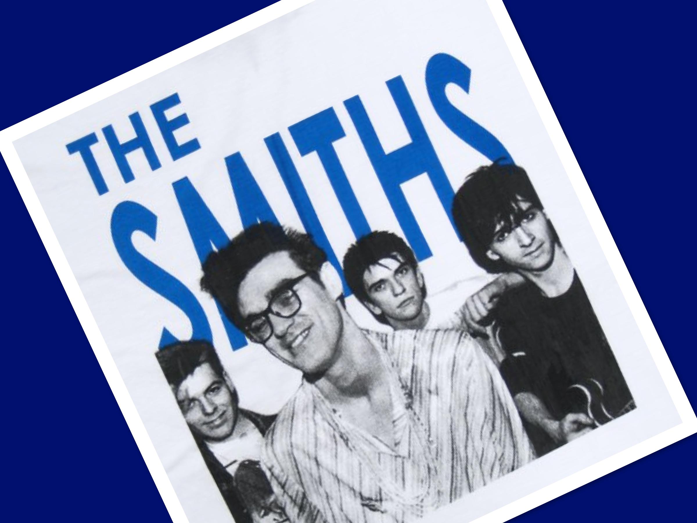 The Smiths T-shirt, alternative rock band, Jimmy Fallon, Tonight Show, Will Smith