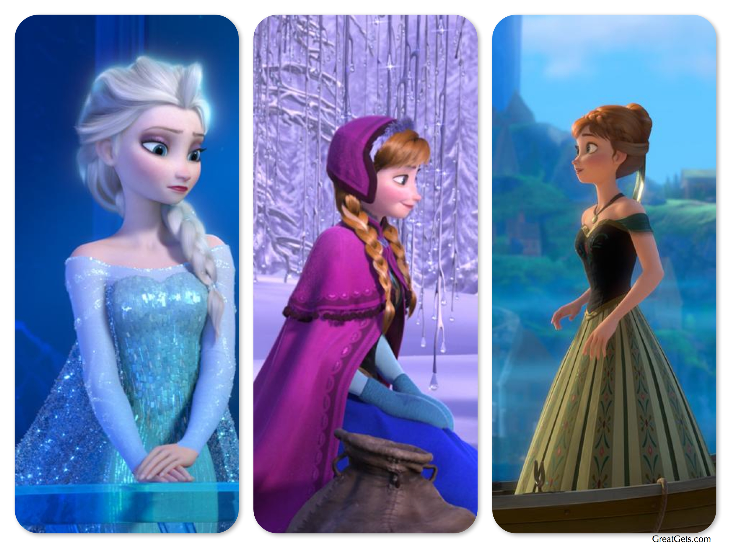 """Fashion Choices Inspired by Disney's """"Frozen"""" Princesses"""