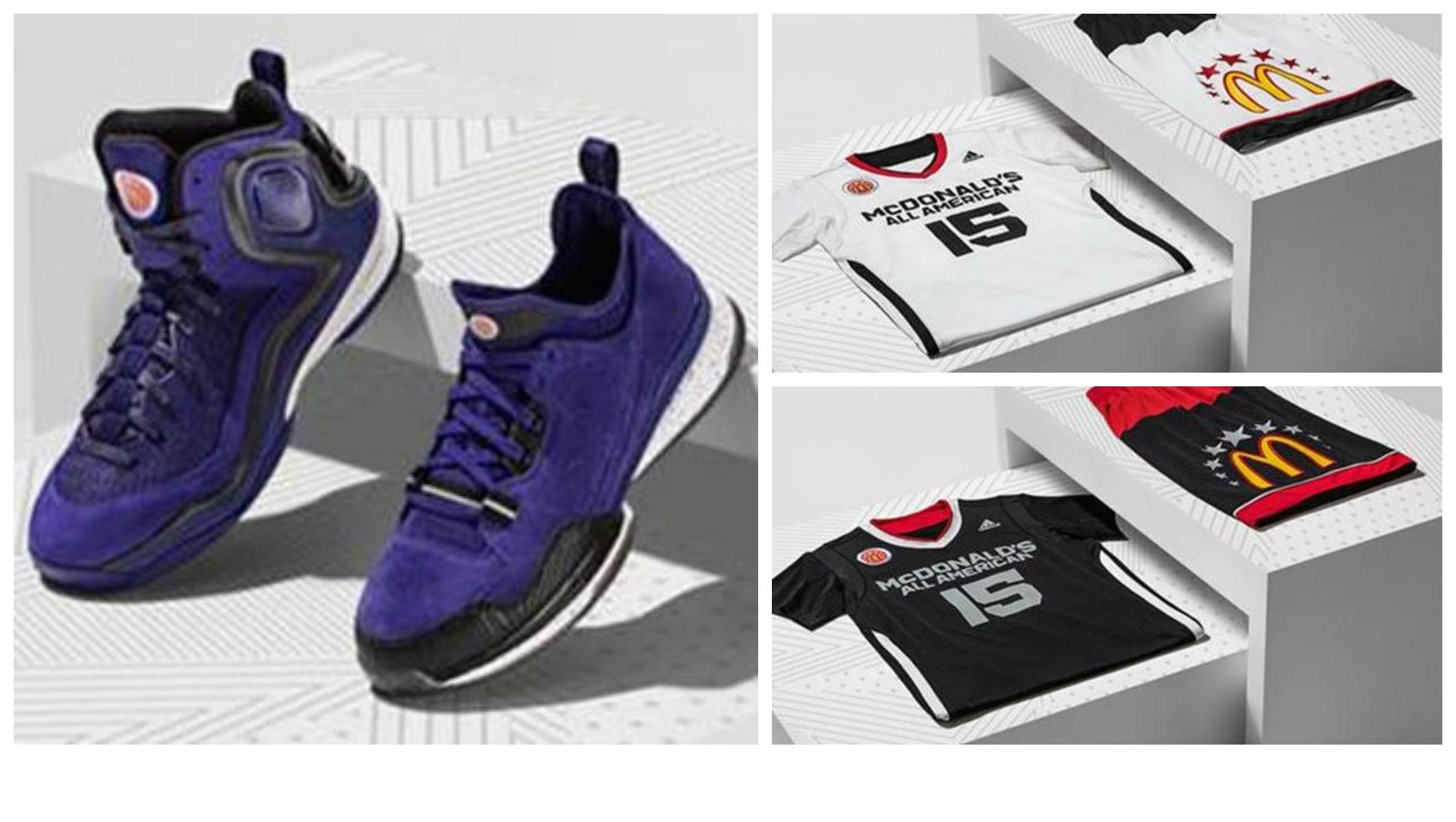 2015 McDonalds All American High School Basketball Games Uniform and Footwear