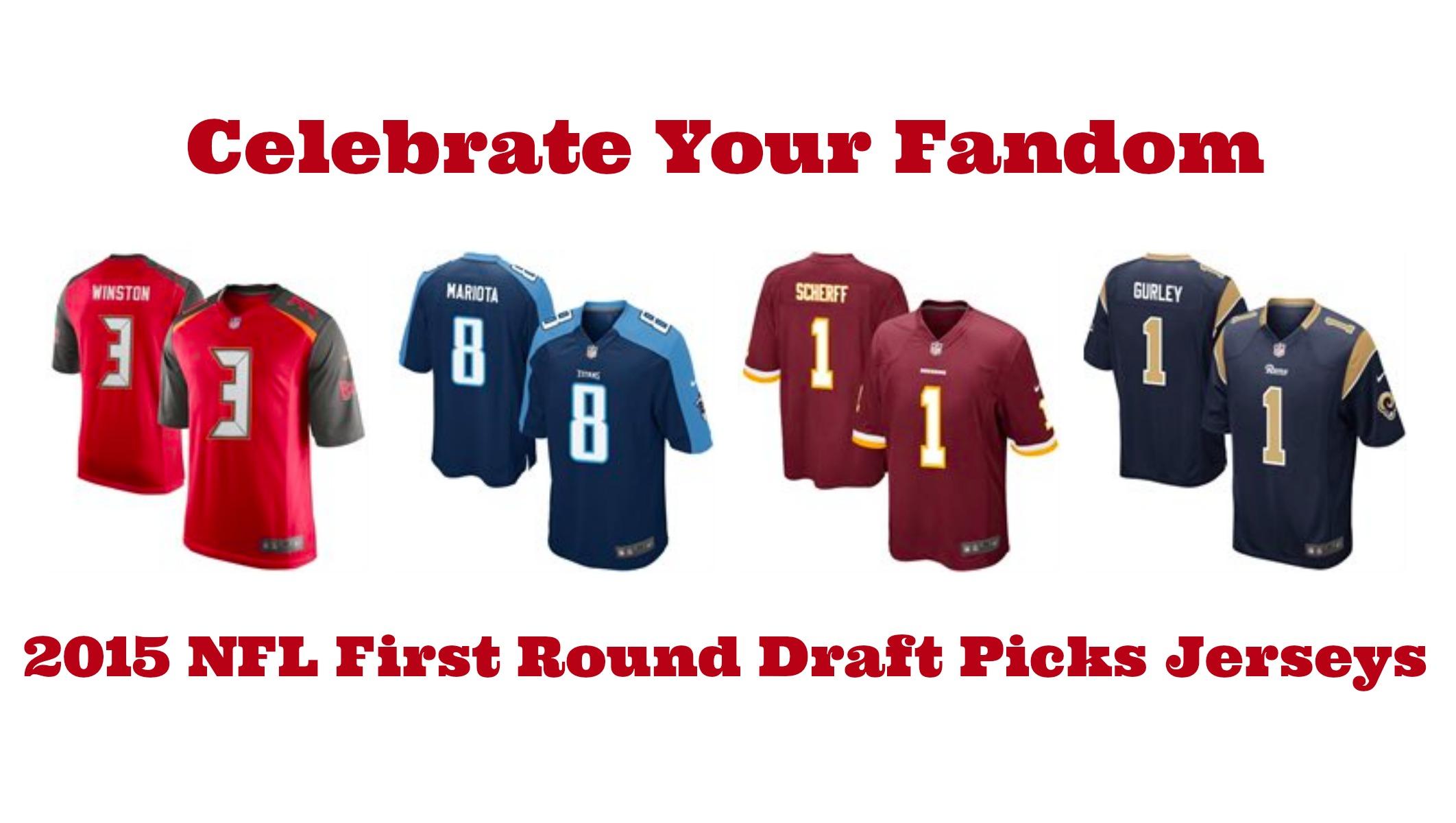 2015 NFL First Round Draft Picks Jerseys