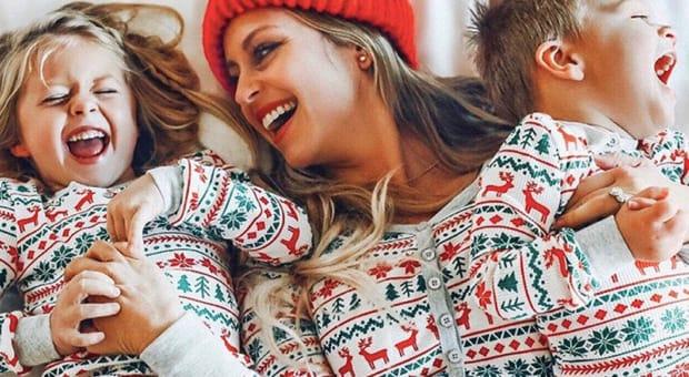 Adorable Matching Mother Daughter Pajamas
